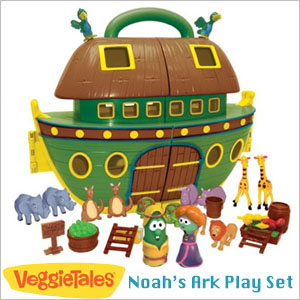 VeggieTales Noah's Ark Play Set