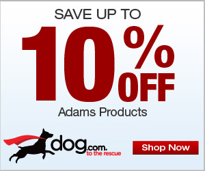 10% OFF Adams Flea & Tick Treatments