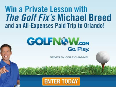 GolfNow - Win a Private Lesson and Trip to Orlando