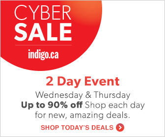 CYBER SALE: Up to 90% off Books, Toys, Home Decor, and More at Chapters.Indigo.ca! Sept. 4 & 5th Onl