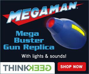 Mega Man Mega Buster Gun Replica