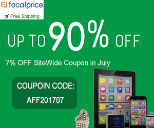 Up to 90% OFF New Arrivals and 7% OFF SiteWide Coupon (AFF201707) for July,EXP:July.31,freeshipping@