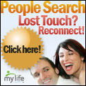 People Search - Lost touch?  Reconnect and locate people from your past.