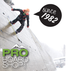 Pro board shop has all the new gear for 2009.