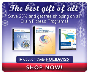 Save 25% on all Brain Fitness Programs!
