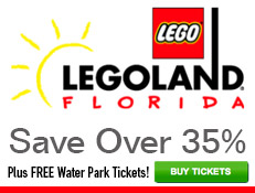 LEGOLAND Florida - Special Offer: Save 35% & FREE Water Park Admission!