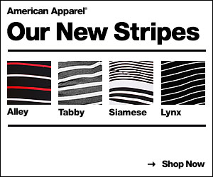 New Stripes at American Apparel