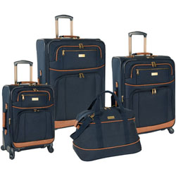 Tommy Bahama Mojito 4 Piece Spinner Luggage Set Now Only $298.99 Plus Free Shipping. Use Promo Code TBMJ at checkout.