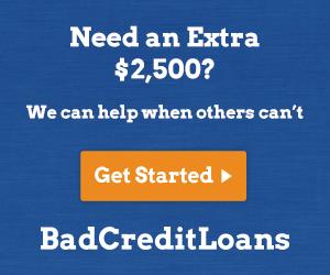 Bad Credit Loans USA