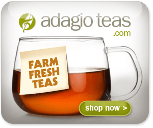 Click Here to Shop Gourmet Farm Fresh Teas Shipped Direct To Your Door from Adagio Teas and Support The Garden Oracle with Your Purchases!