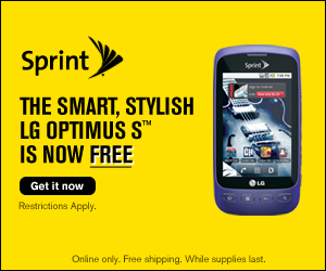 FREE LG Optimus S + Free Shipping!