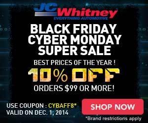 JCW - Cyber Monday Super Sale