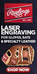 Rawlings Laser Engraved Goods