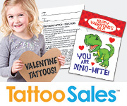 Valentines Day Temporary Tattoos