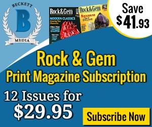 Beckett Rock & Gem Print Magazine Subscription