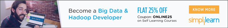 Big Data Hadoop and Spark Developer Certification Training