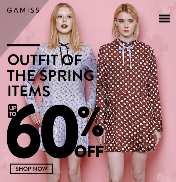 Women's Day Promotion: Up to 60% OFF for Women's clothes