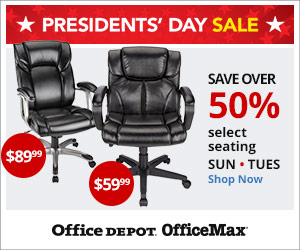 (Sun-Tues) Presidents Day Doorbusters - Save over 50% on Select Seating! PLUS more Furniture Deals