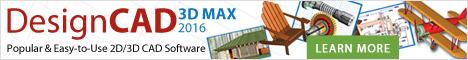 DesignCAD 3D MAX - Draw in 3D!