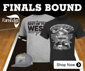 Shop for 2013 San Antonio Spurs 2013 Western Conference Champions Merchandise at Fans Edge