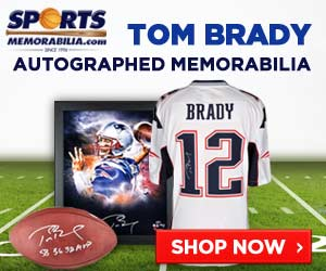 Shop for authentic Tom Brady authentic memorabilia at SportsMemorabilia.com