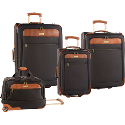 Tommy Bahama Retreat II 4 Piece Expandable Wheeled Luggage Set Now Only $259.99.99 Org. $1,480.00 Plus Free Shipping Use Promo Code THRT at checkout.