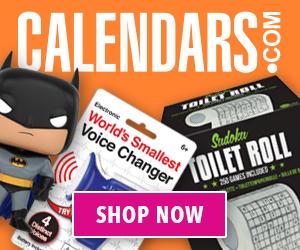 Find Stocking Stuffers on Calendars.com