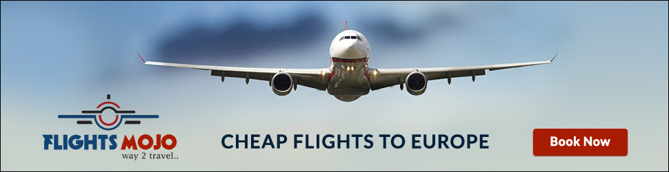 Cheap Flights to Europe at Flights Mojo