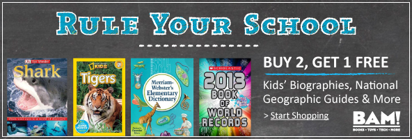 Booksamillion.com's Back to School Sale