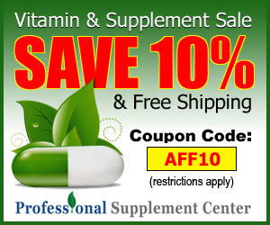 10% Off Professional Supplement Center Coupon Code