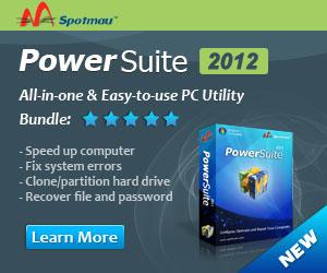 Spotmau PowerSuite bulids you a SAFE PC