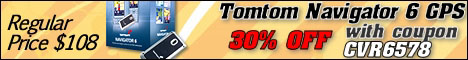 30% off Tomtom Navigator 6 GPS