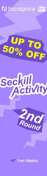 Up to 50% OFF Seckill Activity 2n Round