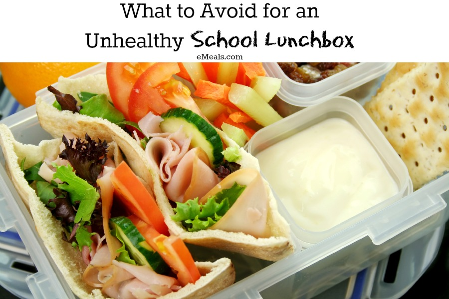 What to Avoid for an Unhealthy School Lunchbox