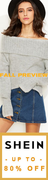 Fall Preview!  Great looks at up to 80% off at SheIn.com!  Ends 9/25