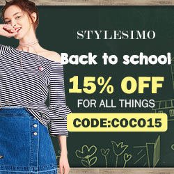 Back to school 2018, 15% off for everything with Code:COCO15