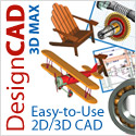 DesignCAD 3D MAX - It's easy-to-use 2D/3D CAD!