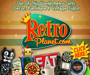 Cool Retro Gear from RetroPlanet.com