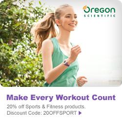 20% Off Sports & Fitness at Oregon Scientific