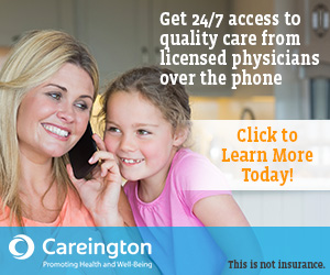 Get 24/7 access to quality care from licensed physicians over the phone!