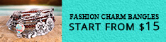 Fashion Charm Bangles