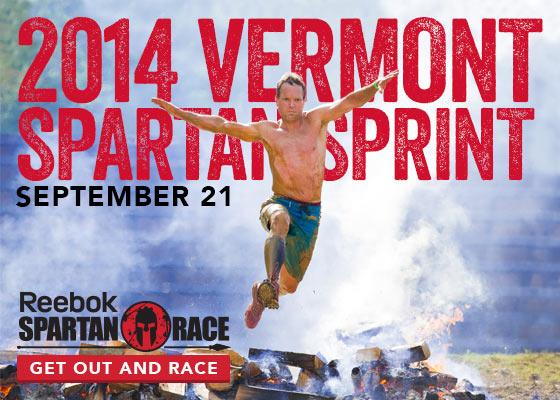 Spartan Sprint in Killington, VT, September 20-21, 2014, Sign Up Now for this Reebok Spartan Race!
