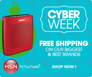 Cyber Week at HSN.com! Free Shipping on our biggest and best brands!