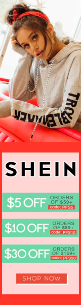 Shop Pre-Fall Styles and Enjoy $30 off orders $159+ with coupon code PFS30 at SheIn.com! Ends 9/25