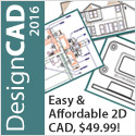 DesignCAD - easy-to-use, versatile 2D CAD!
