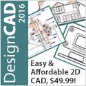 DesignCAD - Easy-to-use, versatile 2D CAD!