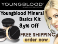 Youngblood Mineral Basics Kit 85% Off + Free Ship