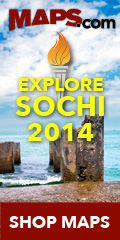 Explore Sochi 2014 with Maps.com