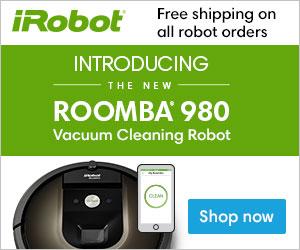 Introducing the Brand New iRobot® Roomba 980. Shop Now at iRobot.com