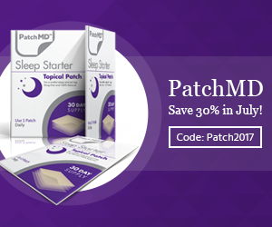Buy Sleep Starter Patch with Melatonin and 5HTP from PatchMD. Save 30% this month!